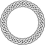 Celtic Circle Knot Patterns